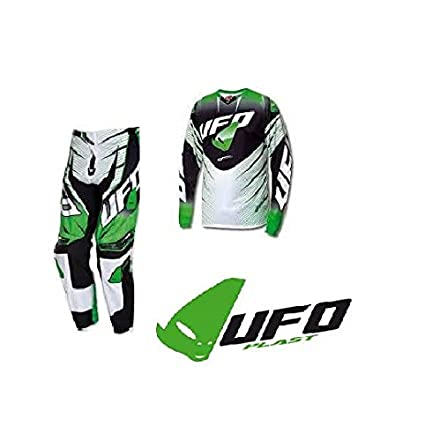 UFO Plast - Traje Completo Voltage MX Cross Enduro verde ...