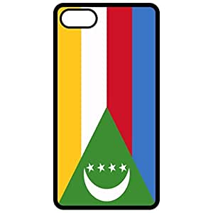 Comoros Flag Black Apple Iphone 6 plus 5.5 Cell Phone Case - Cover