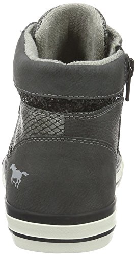 508 Gris Femme Baskets 1146 Graphit Hautes Mustang 259 259 xq154cwY