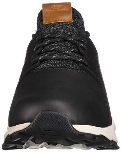 Blk Sneaker Relven black Uomo hemson Skechers Nero YpqARa