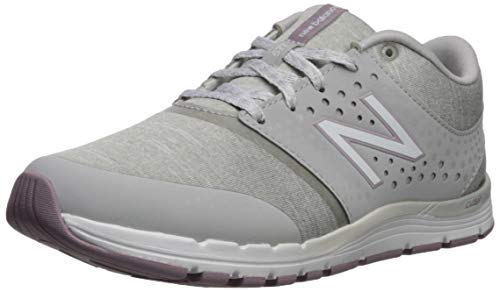 New Balance Women's 577v4 CUSH + Cross Trainer, rain Cloud/Cashmere/White, 7.5 B US