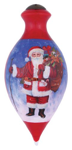 Ne'Qwa Santa Claus is Coming to Town Ornament by Ne'Qwa