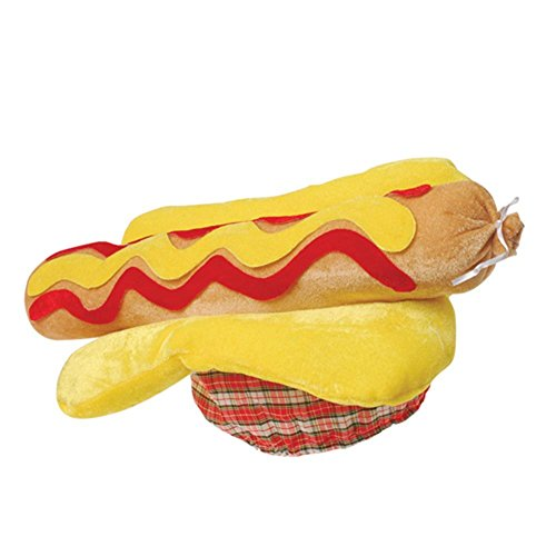 Party City Hot Dog Costumes (US Toy One Hot Dog Hat, 18