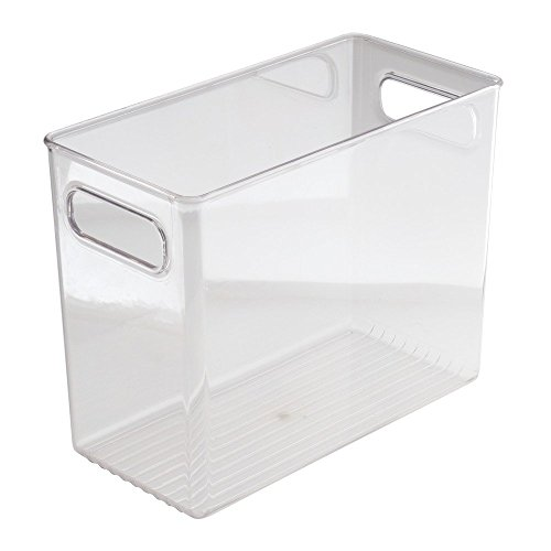 InterDesign Refrigerator, Freezer and Pantry Storage Container – Food Organizer Bin for Kitchen – Extra Large, Clear
