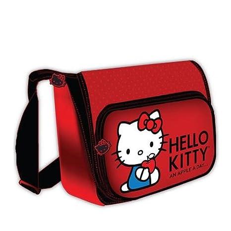 Hello Kitty KT4338RH horizontal - Bolso maletín para portátil de 15,4, color rojo: Amazon.es: Informática