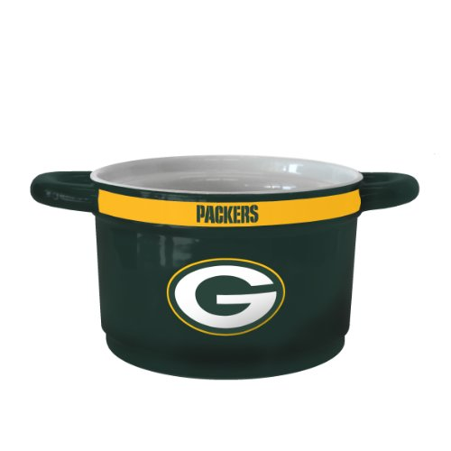 NFL Green Bay Packers Sculpted Gametime Bowl, 23-ounce - Green Bay Packers Ceramic