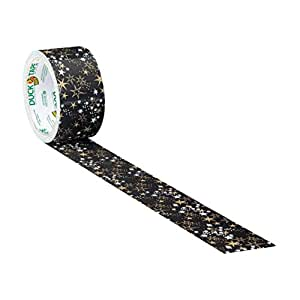 Metallic Gold Stars Duck Brand Duct Tape 1.88 inch by 10 yards 1 roll