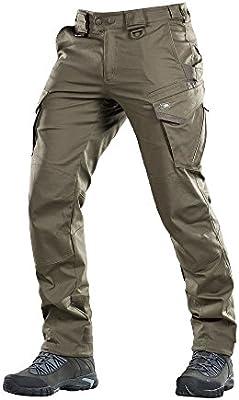 Tactical Pants Aggressor Flex Men Black Cotton with Cargo Pockets