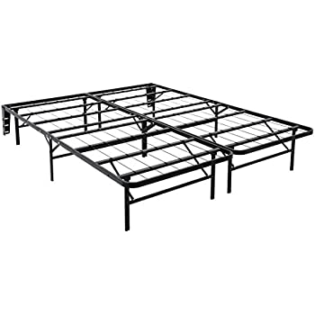 Amazon Com Heavy Duty Metal Platform Bed Frame With