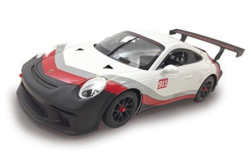 Nero Licenza Ufficiale Rosso Jamara 405153-Porsche 911 GT3 Cup 1:14 Luci LED velocit/à 9 Km//h Auto radiocomandata 405153 Colore Bianco