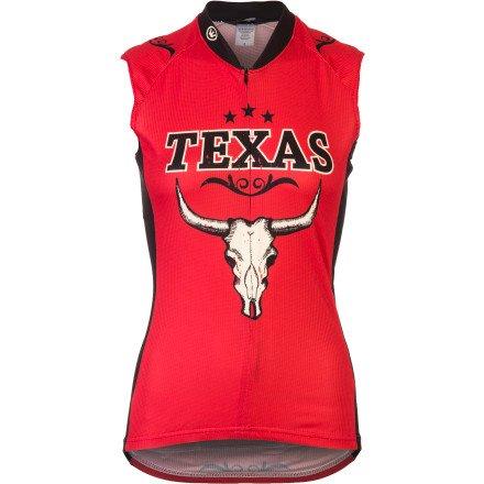 Canari Women's Texas Sleeveless Jersey - M