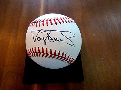 Darryl Strawberry Yankees - Signed Darryl Strawberry Baseball - 1983 Roy 4x Wsc Yankees Vintage - JSA Certified - Autographed Baseballs