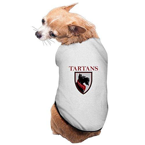 carnegie-mellon-tartans-football-comfortable-dog-shirt