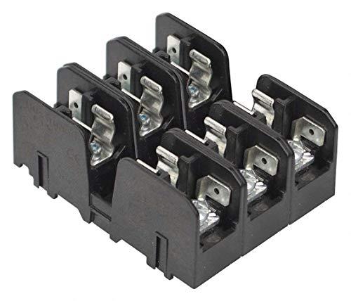 Fuse Block 600v 3 Pole - BUSSMANN BMM603-3SQ BMM603 Series 3 Pole 600 V 30 A Screw and Quick Connect Fuse Block - 1 item(s)