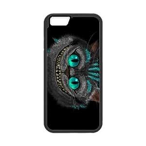 iPhone 6 Plus 5.5 Inch Phone Case Black Disney Cheshire Cat V8995232