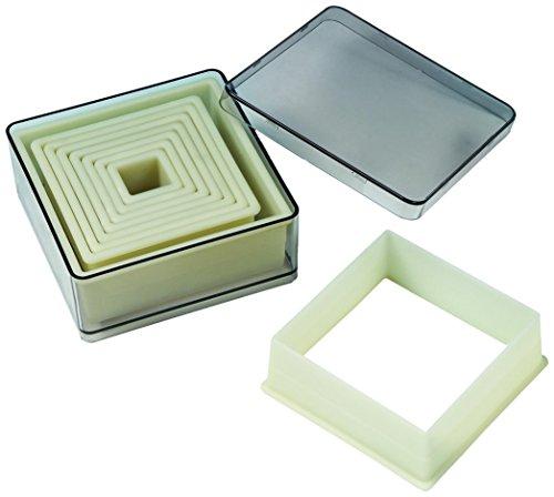Fat Daddio's 9-Piece Square Nylon Cutter ()