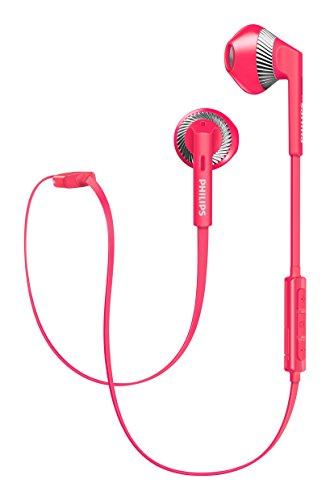 Philips MyJam FreshTones Wireless Bluetooth Headphones  Pink