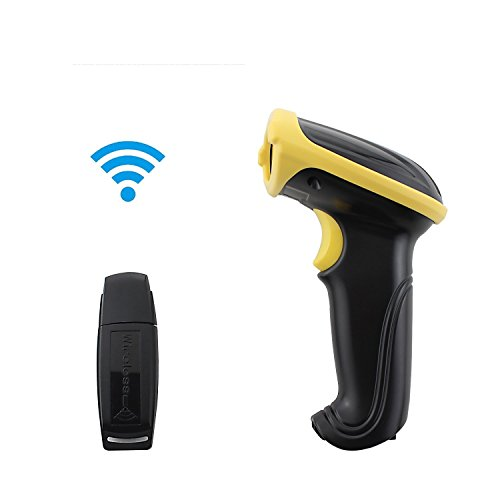 VP6 2.4GHz Wireless USB Portable Handheld Laser Barcode Reader Scanner with 100' Cordless Connection (Square Register Scanner compare prices)