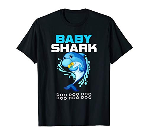 Baby Shark Shirt Doo Doo Cute Gift From Daddy Mommy Grandpa -