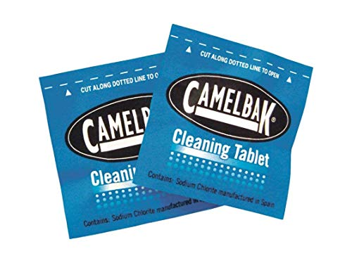 CamelBak 90601 Reservoir and Water Bottle Cleaning Tablets (8-Pack)