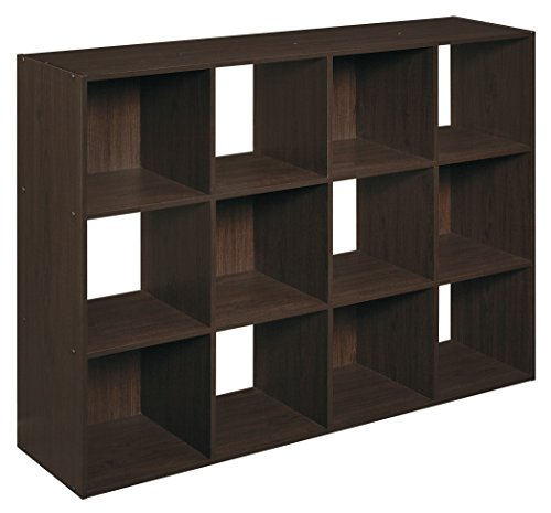 ClosetMaid 1292 Cubeicals 12-Cube Organizer, Espresso (Home Depot Shelving compare prices)