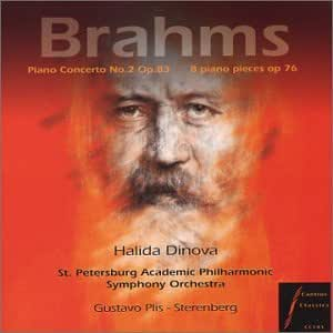 Brahms concerto n2 for piano and orchestra, Op.83 in B Flat major / Eight piano pieces, Op.76