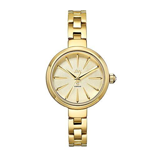 JBW Women's J6326A Analog Display Japanese Quartz Gold Watch