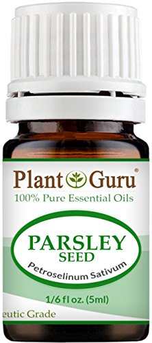 Parsley Essential Oil (Parsley Seed Essential Oil 5 ml. 100% Pure Undiluted Therapeutic Grade.)