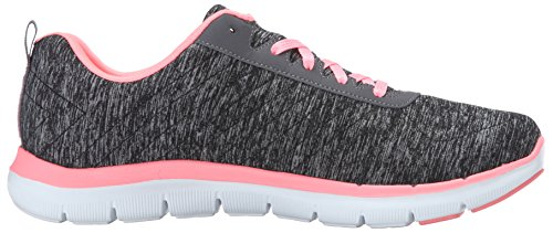 Multisport Outdoor Flex Black Shoes WoMen 2 Black 0 Appeal Coral Skechers axHOqfXww