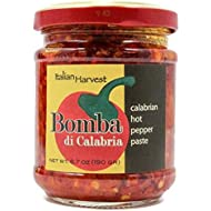 Calabrian Chili Paste Bomba 6.7 Oz - Made from Original Calabrian Peperoncini - Outstanding Flavor & Texture
