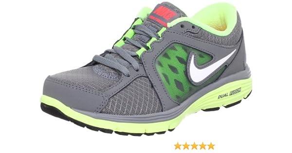 Nike Dual Fusion Run - Zapatillas de Running de Piel Mujer, Gris ...