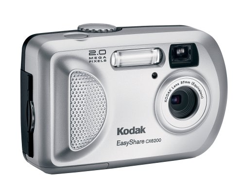 amazon com kodak easyshare cx6200 2mp digital camera old model