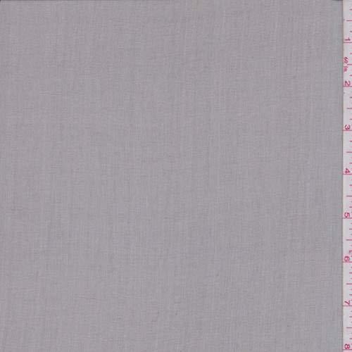 Pebble Grey Silk Crinkle Chiffon, Fabric by The Yard