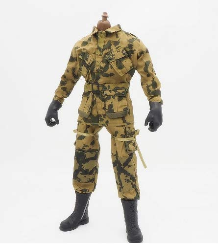 (1/6 Scale Clothes Soldier Uniforms World war II 82nd Airborne Set for 12