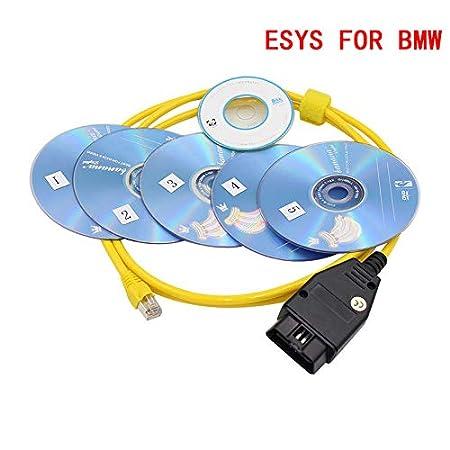 With CD E-SYS ICOM DLSEAUTO ESYS 3 27 1 V57 2 Coding Diagnostic Tool