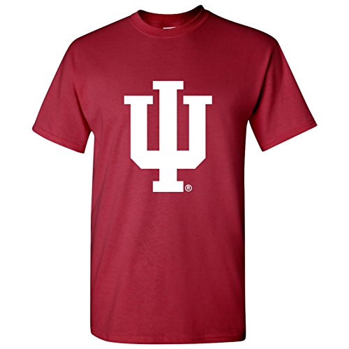 UGP Campus Apparel University of Indiana Hoosiers Primary Logo T-Shirt - 3X-Large - Cardinal