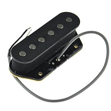 Guitar Single Coil Tele Pastilla de puente para guitarra Telecaster guitarra eléctrica parte: Amazon.es: Instrumentos musicales