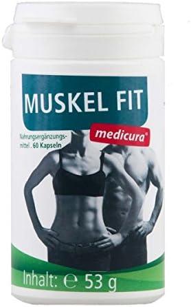 Medicura Muskel Fit 500 mg 60 Kapseln - 36.1 g