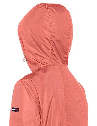 Essential Blouson 689 Coral Femme Rose Jeans Jacket Spiced Tommy Tjw vqIEZ