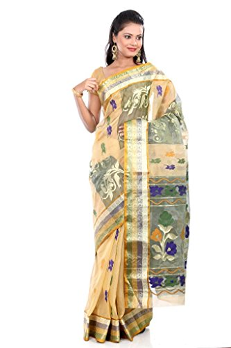 B3Fashion-Indian-Bengal-Handloom-Pure-Tussar-Silk-Saree