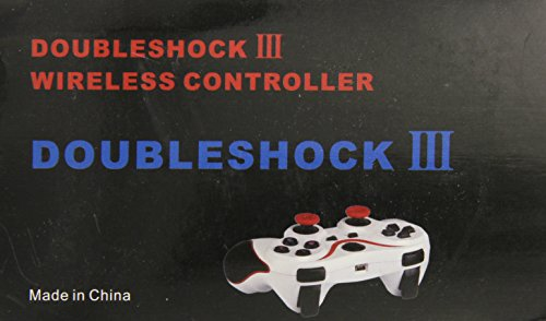 Gen PS3 Ultra Comfort Black and Orange Wireless Bluetooth Controller - PlayStation 3