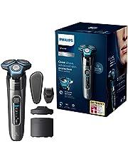 Philips Elektrisk rakapparat Series 7000 - Våt- och torrakning - Antifriktionsbeläggning - Rörelsekontrollsensor -Flexibla 360° rakhuvuden - Djuprengöring - S7788/55