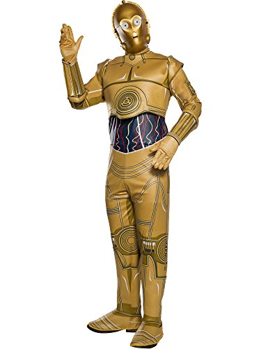 Rubie's Costume Co Unisex-Adults Star Wars Classic C-3PO Costume]()
