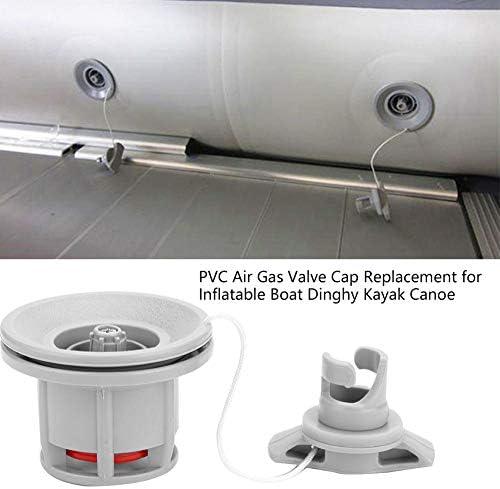 OhhGo Sostituzione del Tappo della Valvola del Gas Aria in PVC per Canoa Kayak per Gommone