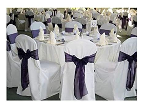 Phenomenal Springrose 100 White Polyester Standard Round Top Banquet Wedding Chair Covers Caraccident5 Cool Chair Designs And Ideas Caraccident5Info