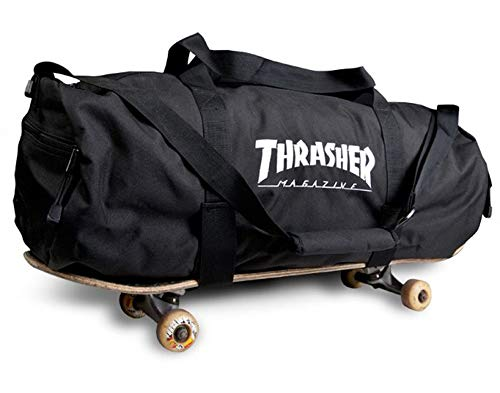 Embroidered Duffle Bags - Thrasher Magazine Embroidered Skate Mag Logo