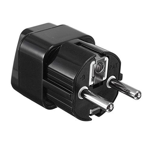 250V 10A AC Universal UK US AU to EU Travel Power Adapter Converter Wall Plug