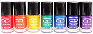 CP Trendies RAINBOW COLORS nail polish set