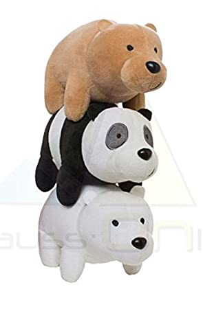 OTRAS MARCAS Peluche Triple 35cm de Somos Osos, We Are Bears 71506