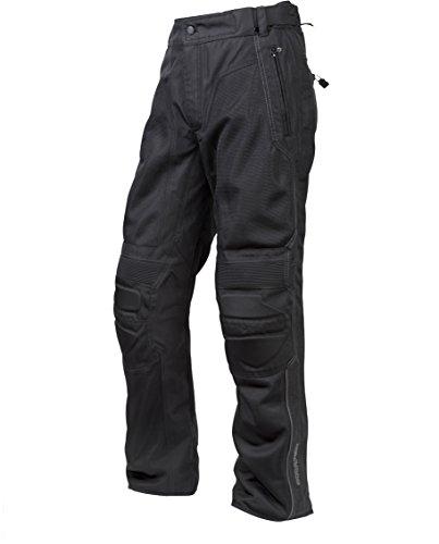 (ScorpionExo Trey Men's Textile Motorcycle Pants (Black, XX-Large Tall))